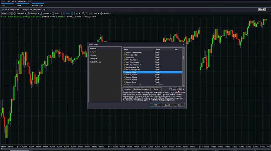 Discover the platform - top visual5 - TradeStation Global
