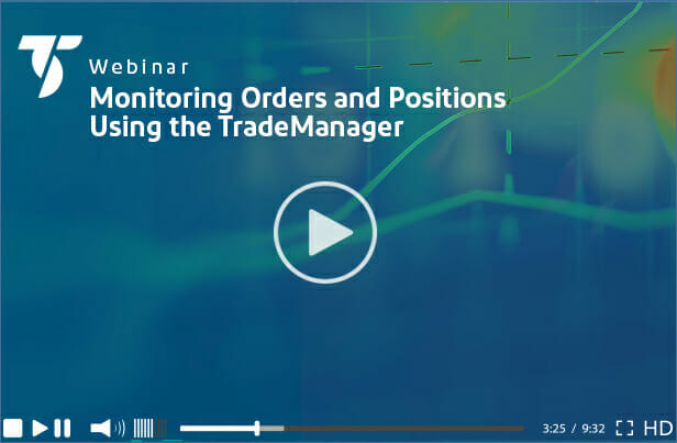 Monitoring Orders - Videos - TradeStation Global